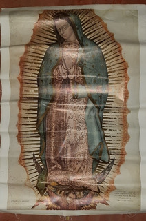 Lienzo De La Virgen De Guadalupe, Directo De La Basílica