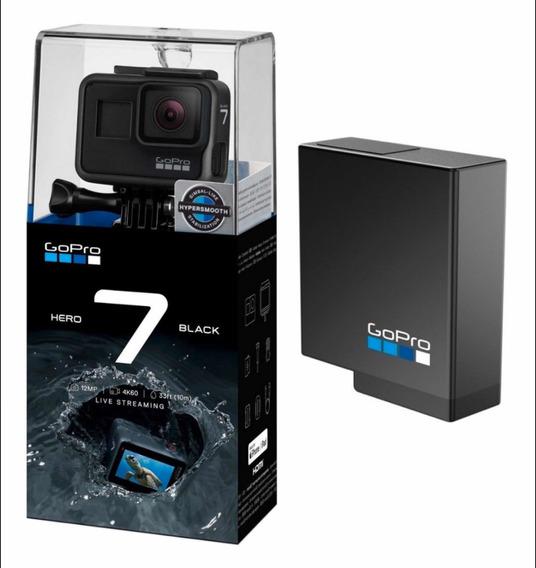 Câmera Digital Gopro Hero 7 Black 12mp 4k + Bateria Original