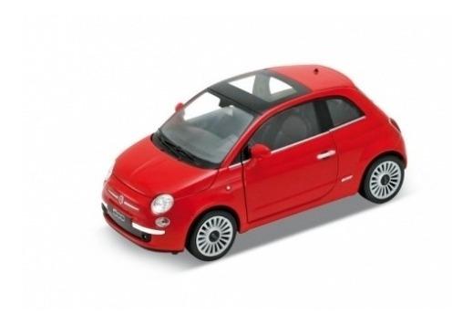 Auto Fiat 500 Welly 1.36 Amoamisjuguetes