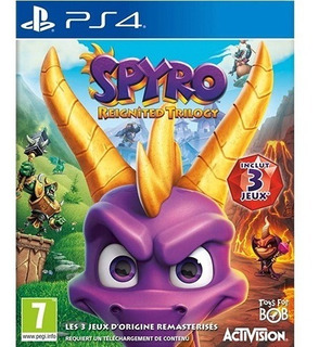 Spyro Reignited Trilogy Ps4 - Juego Fisico - Prophone
