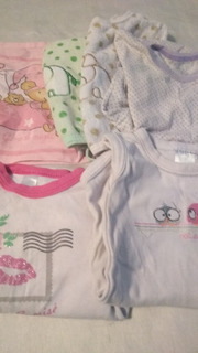 Lote Ropa Para Bebés Enterito _ Babero