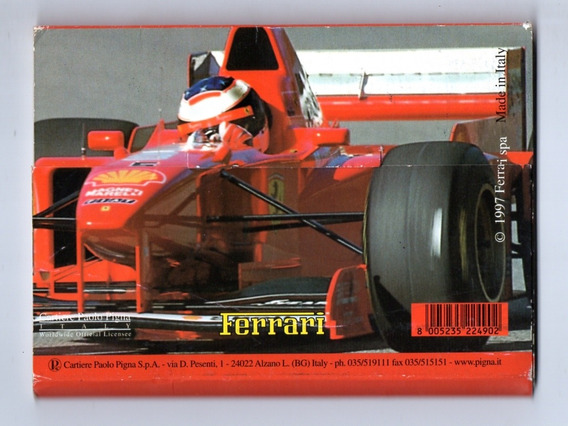 Cartao Postal Formula 1 Ferrari Album Com 10 - 1997