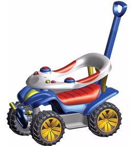 Carrinho Passeio Para Bebê Biemme Dudu Car Com Empurrador