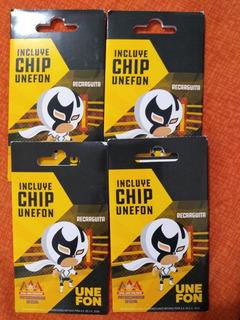 2 Chip Unefon Con 100 Pesos Gratis Cada Uno