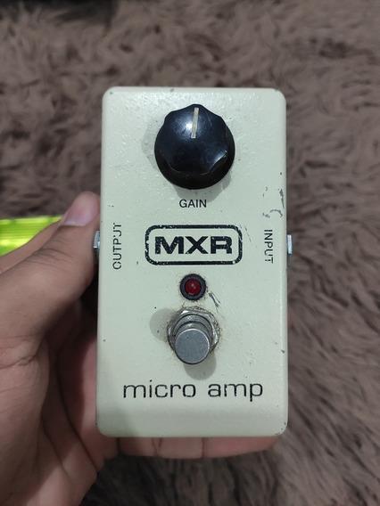 Pedal Mxr Micro Amp. (makkina, Dmt, Line 6, Fender)