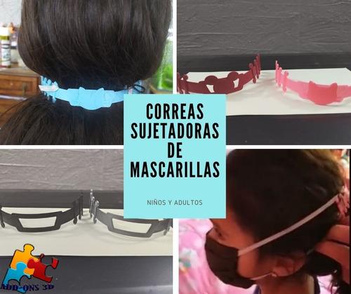 Imagen 1 de 5 de 4 Unidades De Correa, Sujeta Mascarillas, Protector Orejas