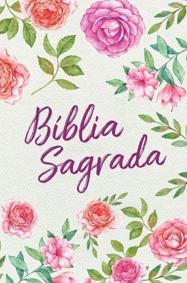 Biblia Nvt LG St - Textura Floral - Mundo Cristao