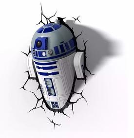 Luminaria 3d Light Fx - Star Wars - R2-d2
