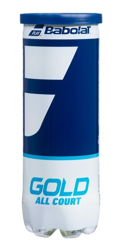 Pelotas Tenis Babolat Gold All Court Tubo X3 Itf Approved