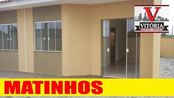 Casa Na Praia Em Condomínio À Venda - Monções - Matinhos/pr Aceita Financiamento Bancário - Ca0694