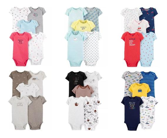 Bodys Importados Carters - Talles 3,6,9 Meses - Nena / Varon
