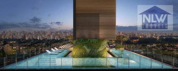 Apartamento Com 1 Dormitório À Venda, 44 M² Por R$ 591.000 - Itaim Bibi - São Paulo/sp - Ap2076