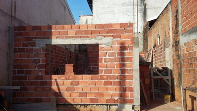 Terreno Com Casa Em Construção - Te0017