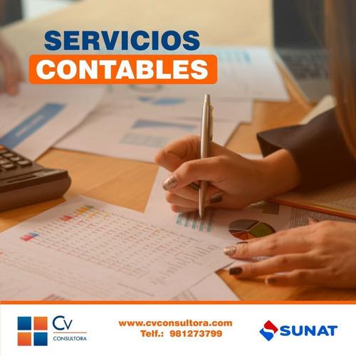 Imagen 1 de 10 de Contador, Servicio Contable, Renta Anual, Ddjj, Declaracione