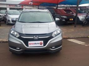 Honda Hr-v Exl Aut. 2016 Cinza Flex