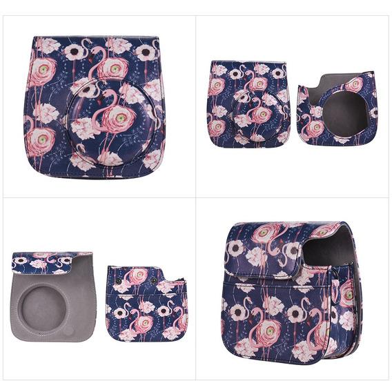 Andoer Camera Case Bag Com Correia Para Fujifilm Instax Mini