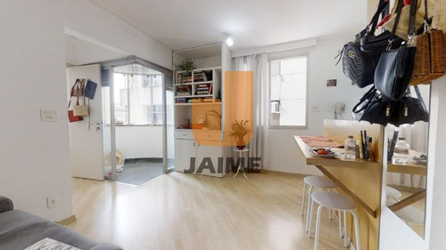 Apartamento Padrão Com 1 Dormitório E Vaga  - Bi1443