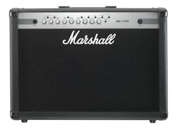 Amplificador Guitarra Marshall 100w 2x12 Mg102cfx
