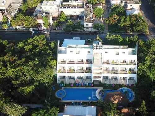 Hotel En Venta En Tulum Quintana Roo, 30 Habitaciones