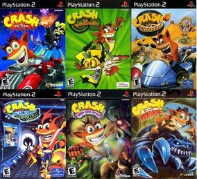 6 Patchs Ps2 - Crash Bandicoot Collection