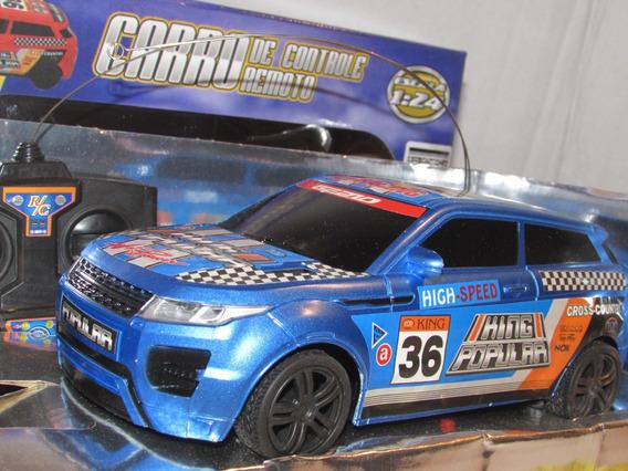 Carro Caminhonete Land Rover Cor Azul Cross Country 1/24 !!!