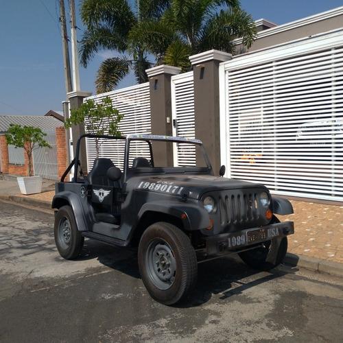 Imagem 1 de 10 de Mini Buggy Jeep Exército