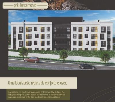 Excelente Apartamentos No Condomínio Reserva Citty Habitat - Ap0077