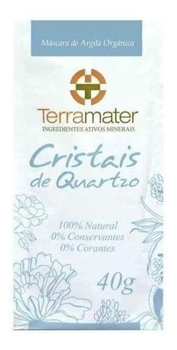 Cristais De Quartzo Para Esfoliação Terramater 40g
