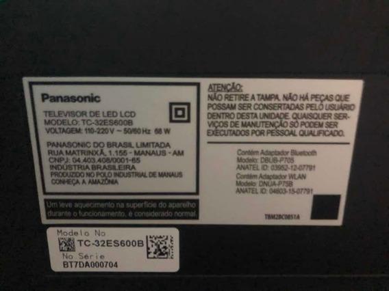 Televisão 32 Polegadas Panasonic - Tela Quebrada