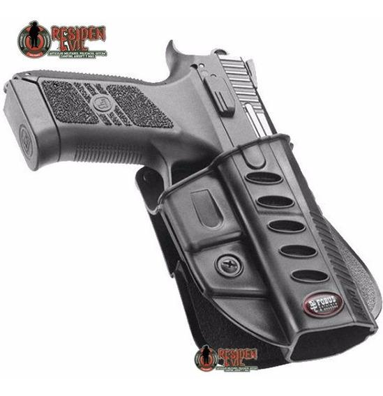 Funda Pistola Fobus Cezka Duty Pistolera Arma P07/p09