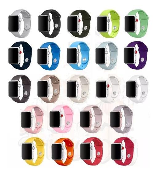 Pulseira Sport Para Apple Watch 38mm 40mm 42mm 44mm Series