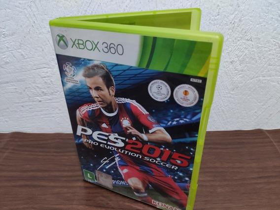 Pes 2015 Xbox 360 Semi-novo