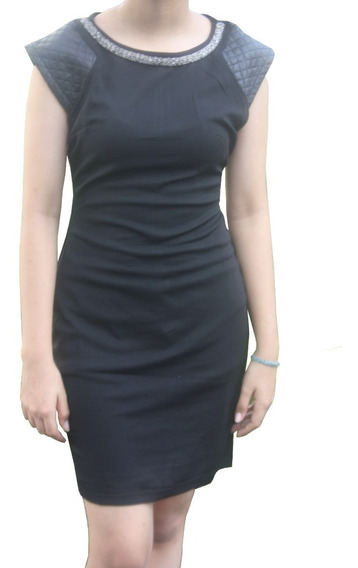 V1253 Vestido Negro Ajustado, It Girls Colombia
