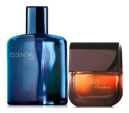 Perfume Ilia Dual + Essencial Oud Hombr - mL a $889