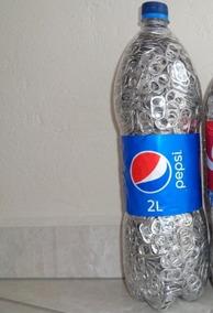 Lacres Em Alumínio De Latinhas Em Garrafa Pet De 2 Litros