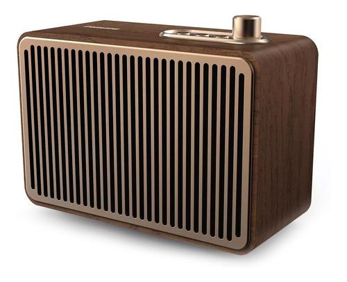 Parlante Bluetooth Vintage Philips Tavs500 Madera Aux Cuotas