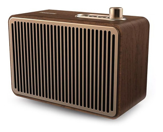 Parlante Portatil Bluetooth Vintage Philips Tavs500 Madera
