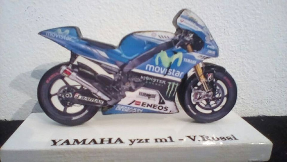 Valentino Rossi Motos Miniatura Artesanal Souvenir Coleccion