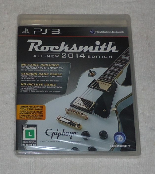 Rocksmith 2014 Ps3 Lacrado ** Leia