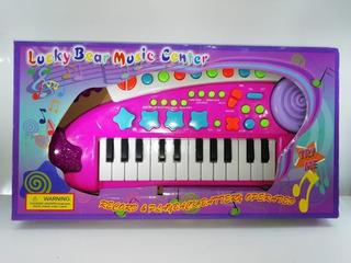 Organo Musical Piano Teclado Infantil Music Center @ Mca