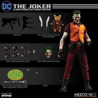 Mezco One:12 The Joker Clown Prince Of Crime Edition