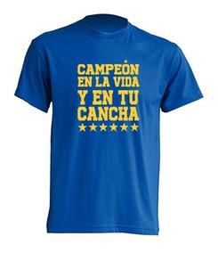 Camiseta En La Vida Y En Tu Cancha / Tigres