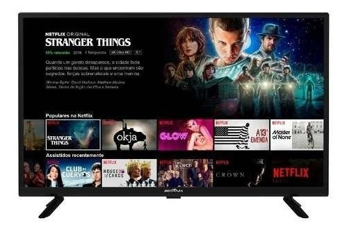 Smart Tv Britânia Led 32 Netflix Bivolt