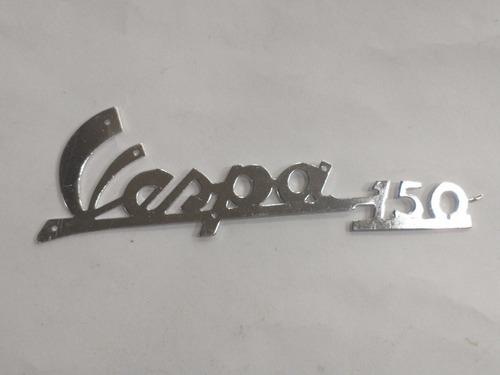 Insignia Vespa 150 En Aluminio Excelente Calidad