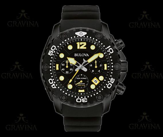Relógio De Pulso Sea King Bulova Masculino