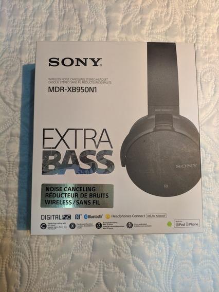 Fone Headphone Sony Mdr-xb950n1 Bluetooth Academia Sem Ruído