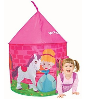 Carpa Castillo Pony Para Nenas Iplay Interior O Exterior