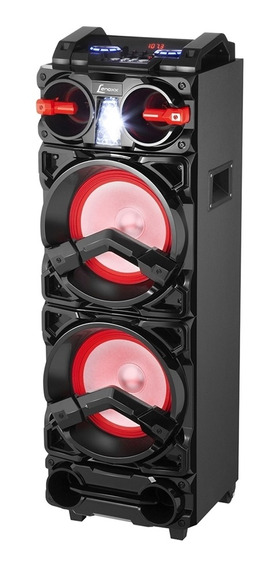Caixa De Som Amplificada Lenoxx 800w Ca-3900 Preta - Bivolt