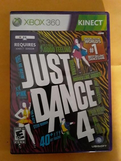 Jogo Xbox 360 Just Dance 4 Original Mídia Física
