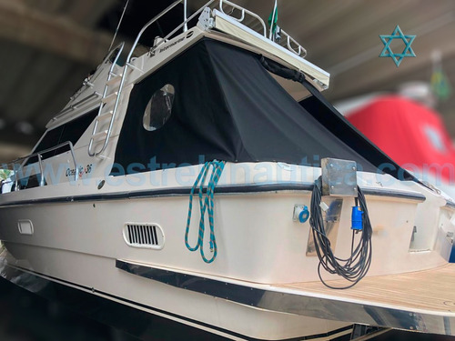 Lancha Oceanic 36 Barco Iate N Azimut Fishing Cimitarra